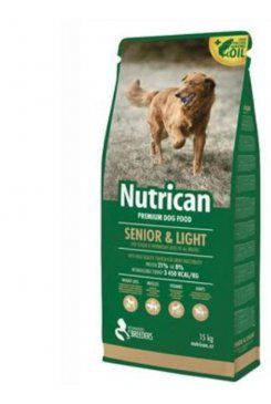 Nutri Can Senior Light 3 kg cena od 144 Kč