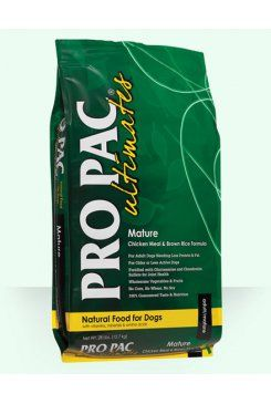 Pro Pac Ultimates Dog Mature Chick&Brown Rice 12 kg