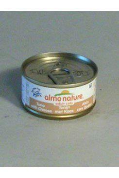 Almo Nature Almo Cat Nature Classic konzerva kočka tuňák+kuře+sýr 70 g