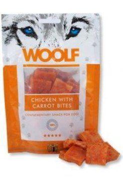 Woolf snack pochoutka chicken with carrot bites 100 g