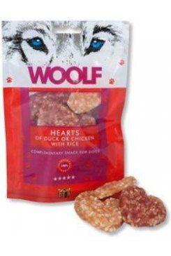 Woolf snack pochoutka welcome hearts 100 g