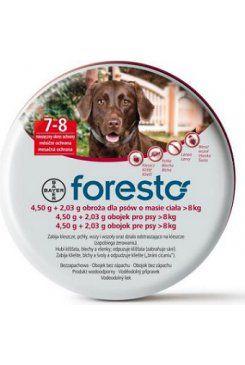 Bayer Foresto 4,50 g+2,03 g