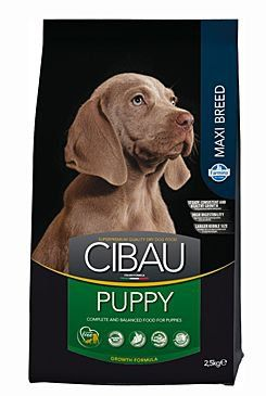 CIBAU Dog Puppy Maxi 2,5 kg cena od 305 Kč