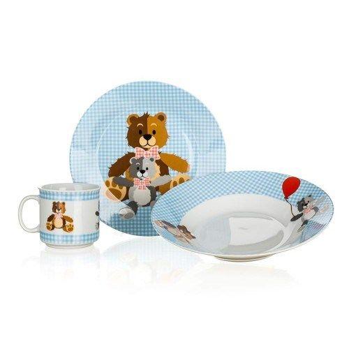 Banquet Medvídek 3dílná dětská sada cena od 180 Kč