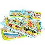 MeadowKids Puzzle do vany Automobilový závod