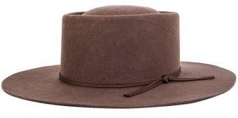 Brixton Strider taupe klobouk