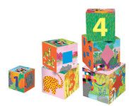 Petit Jour Paris Elmer Toy kostky na hraní