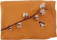 Kaarsgaren Oranžová deka s tučňákem
