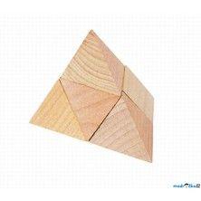 Goki Dřevěný hlavolam Pyramida