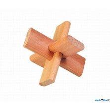Goki Dřevěný hlavolam Kříž
