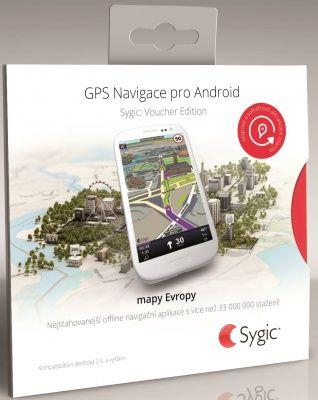 Sygic GPS Navigation cena od 549 Kč