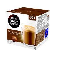 NESCAFÉ Cafe AuLait k Dolce Gusto 30 ks cena od 219 Kč