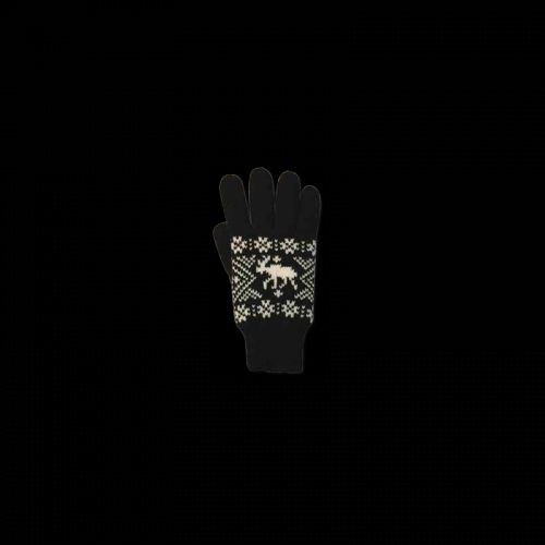 Waynor Pletené rukavice s losem