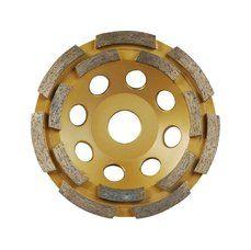 EXTOL Kotouč diamantový brusný dvouřadý 150x22,2 mm