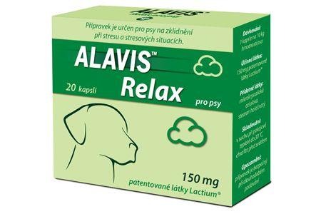 Alavis Relax 150 mg 20 kapslí