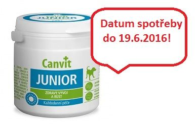 BIOFAKTORY Canvit Junior 100 g