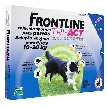 Frontline TRI-ACT Spot on dog M 10-20 kg