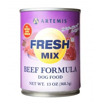 Artemis Fresh Mix Dogs Beef 370 g