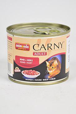 Animonda kočka Adult hovězí srdce 200 g