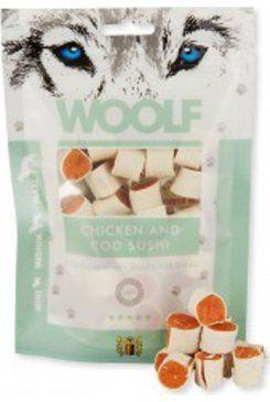 Woolf snack pochoutka chicken and cod sushi 100 g