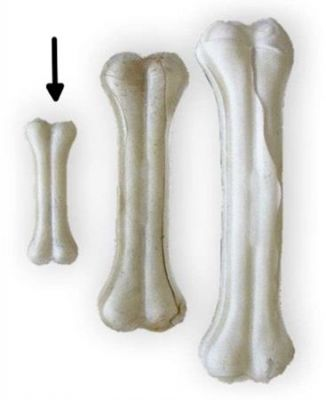 Tenesco Kost bůvolí bílá 8 cm