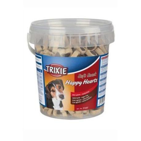 Trixie Soft Snack Happy Hearts srdíčka jehněčí 500 g