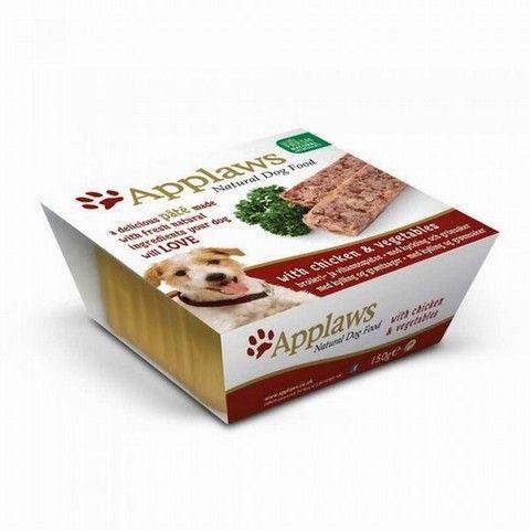 Applaws Paté Dog kuře a zelenina 150 g cena od 54 Kč