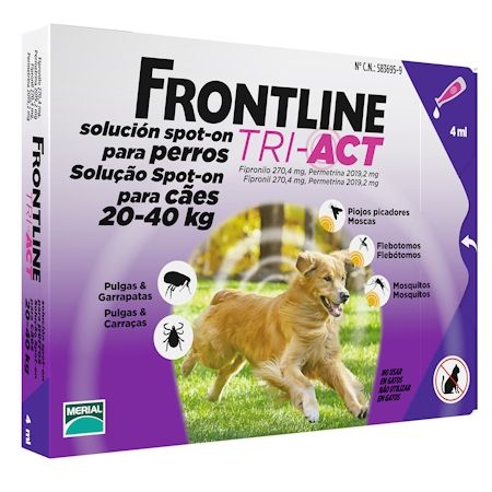 Frontline TRI-ACT Spot on dog L 20-40 kg
