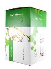 Patria Kobylí Veltlínské zelené Jakostní odrůdové 5 l