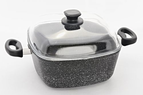 Alulit Granit hrnec 26 x 26 x 11 cm cena od 2445 Kč