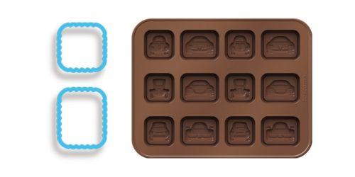 Tescoma Formičky na čokoládu s vykrajovátky cena od 49 Kč