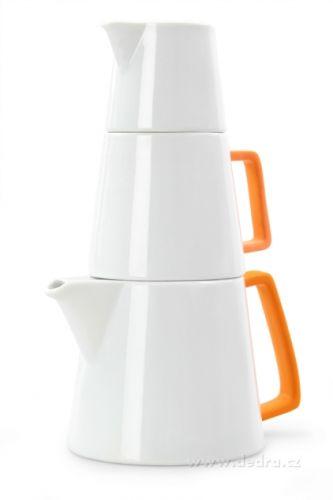 DEDRA TRIO PYRAMIDA porcelánový set 3v1 cena od 499 Kč