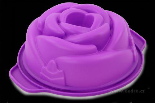 Dedra Růže silikonová forma na bábovku cena od 129 Kč