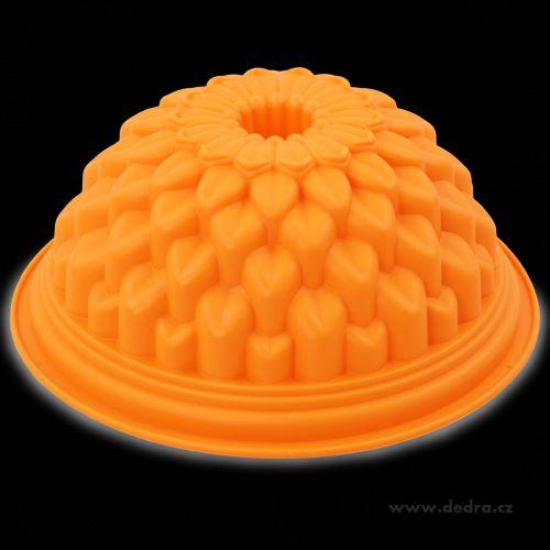 Dedra Květina silikonová forma na bábovku cena od 199 Kč