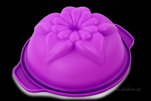 Dedra Lotos silikonová forma na bábovku cena od 129 Kč
