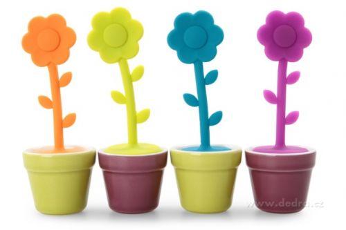 DEDRA Sítko na sypané čaje květinka cena od 99 Kč