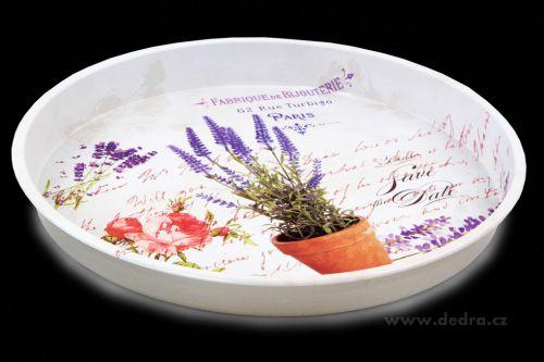 Dedra Kovový podnos 30 cm cena od 149 Kč