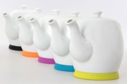 Dedra Porcelánová konvice se silikonovým dnem cena od 299 Kč