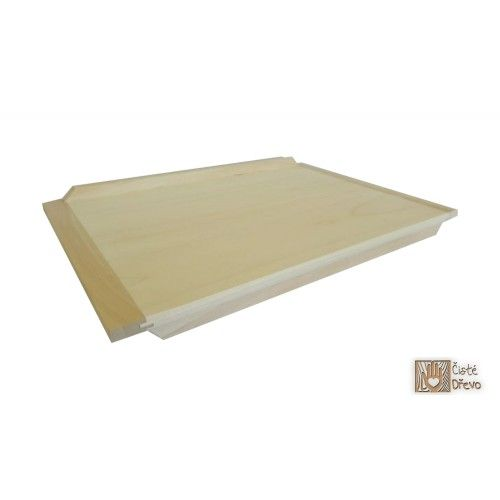 ČistéDřevo Dřevěný vál 60 x 40 cm