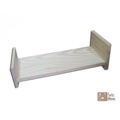 ČistéDřevo Dřevěná postýlka pro panenky H011 cena od 289 Kč
