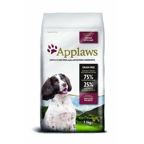 Applaws Dog Adult Small & Medium Breed Chicken & Lamb 7,5 Kg