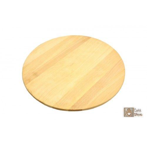 ČistéDřevo Prkénko na pizzu 50 cm cena od 429 Kč