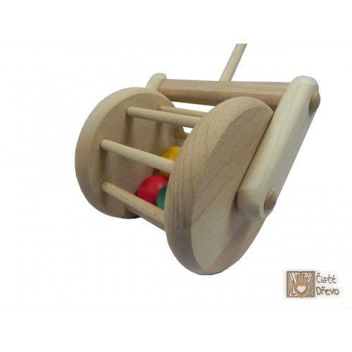 ČistéDřevo Tlačící bubínek H017