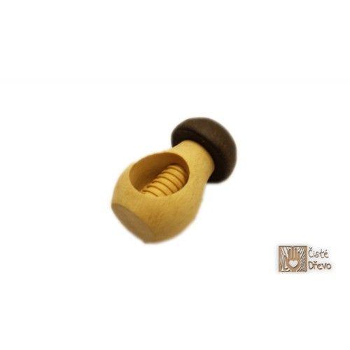 ČistéDřevo Louskáček na ořechy houba
