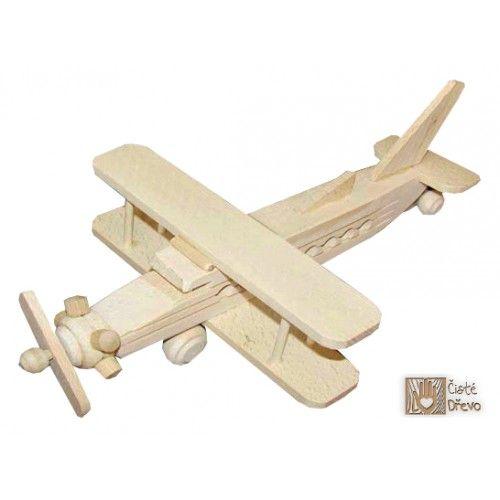 ČistéDřevo Dřevěné letadlo H027 cena od 249 Kč