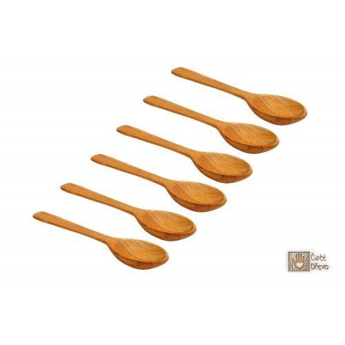 ČistéDřevo Dřevěná lžíce 17 cm cena od 39 Kč