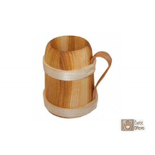 ČistéDřevo Dřevěný korbel cena od 394 Kč
