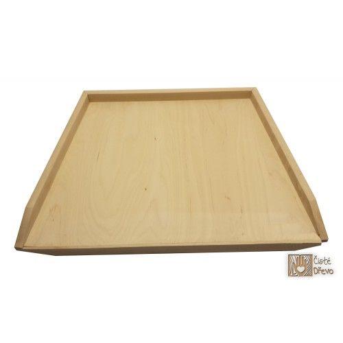 ČistéDřevo Dřevěný vál 60 x 45 cm cena od 249 Kč