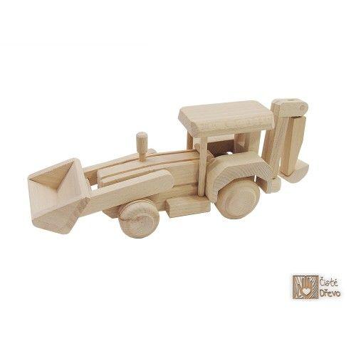 ČistéDřevo Dřevěný čelní nakladač H001 cena od 249 Kč