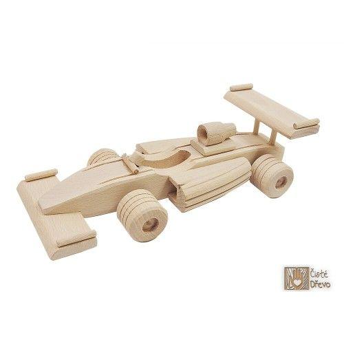 ČistéDřevo Dřevěná Formule 1 H004